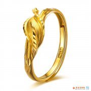 黄金戒指女款推荐  黄金戒指女款图片