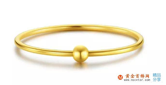 黄金首饰上,一般会印着字母G或者AU