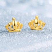 女士黄金耳钉-黄金耳钉款式