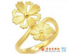 黄金结婚戒指款式有哪些  如何购买黄金物件_婚戒首饰