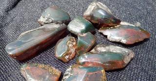 墨西哥蓝珀原石价格