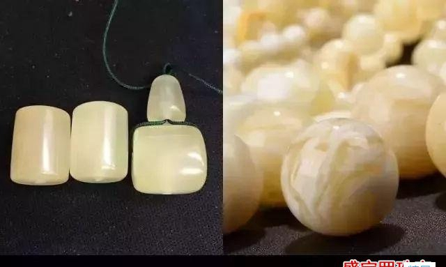 假的白花蜜蜡图片,你有见过吗?