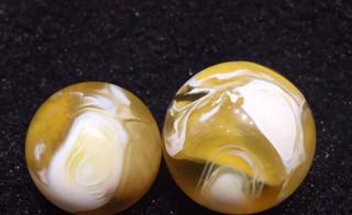金绞白和白花蜜蜡的区别,你真的清楚吗?