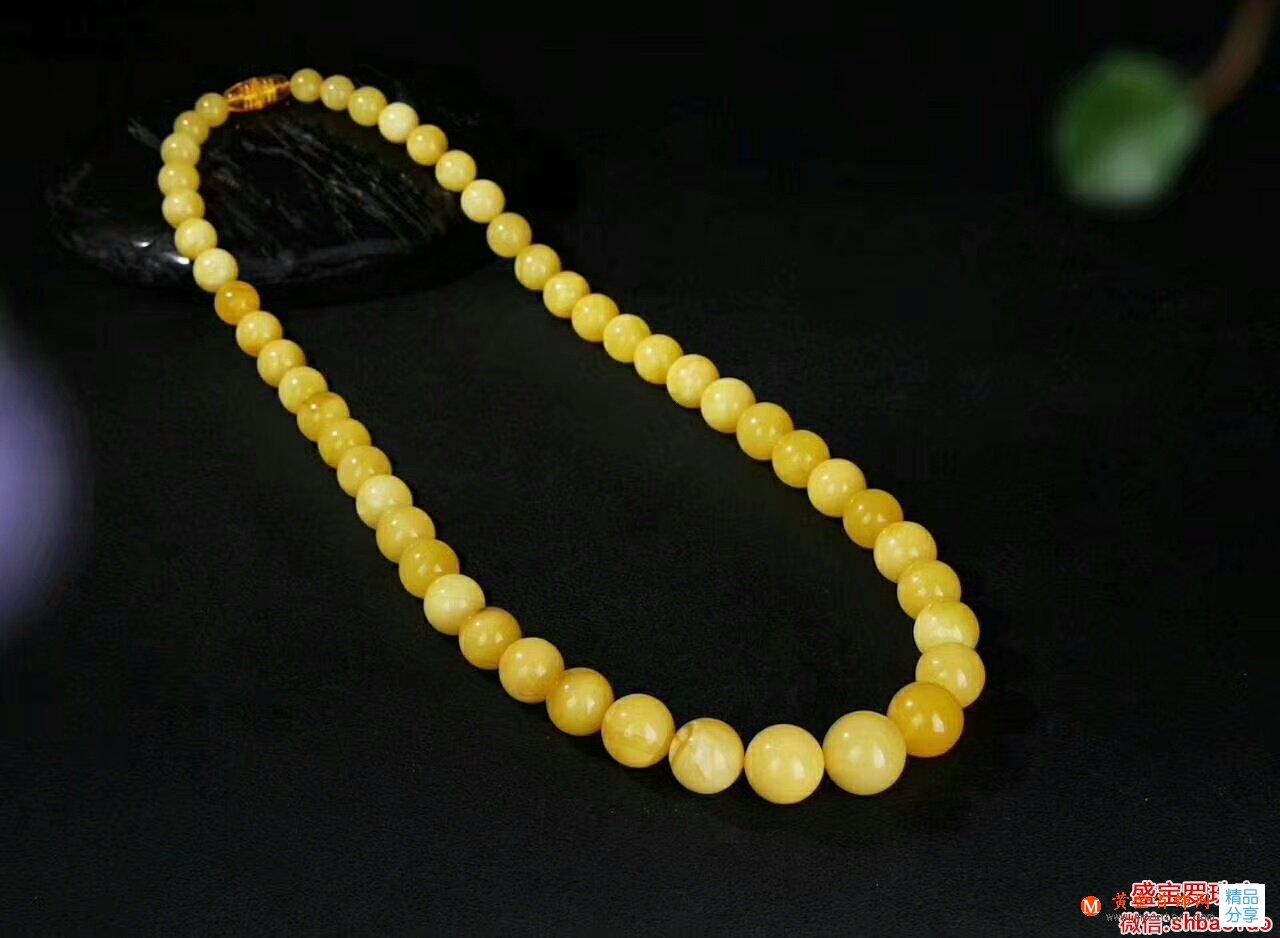 蜜蜡琥珀项链价格很重要,但是项链的真假更不能忽视!