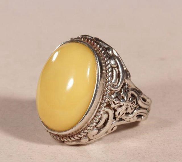 三招教你挑选蜜蜡银戒指,安全又实惠!
