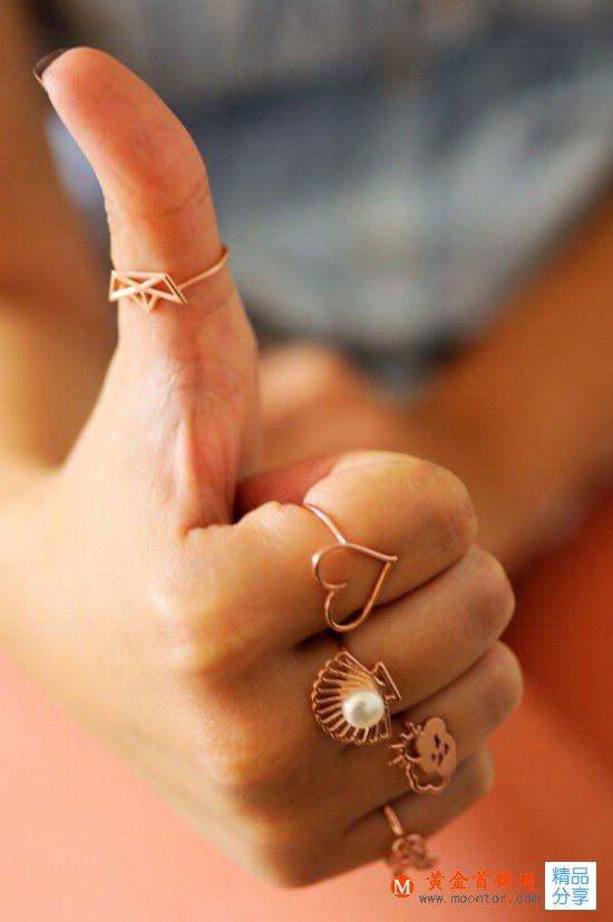 戒指的戴法与涵义