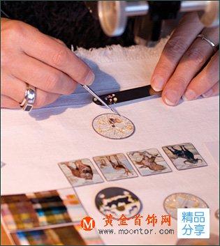 掐丝珐琅工艺在首饰制作中应用