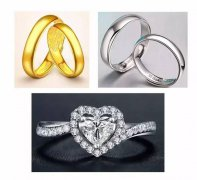 结婚戒指黄金还是铂金?结婚戒指选钻戒还是足金、铂金?【内部资料】
