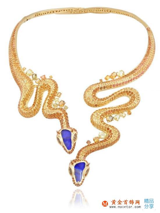 Lydia Courteille:神秘撒哈拉-创意珠宝