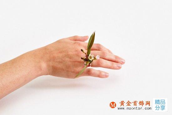 Gahee Kang:让四季在你指尖轮回-创意珠宝
