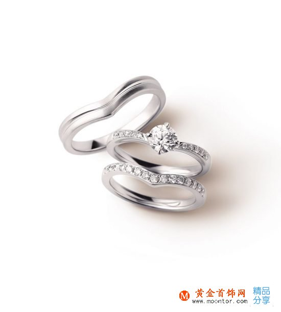 I-PRIMO婚戒:三戒合一