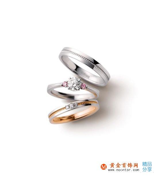 I-PRIMO婚戒:三戒合一-创意珠宝