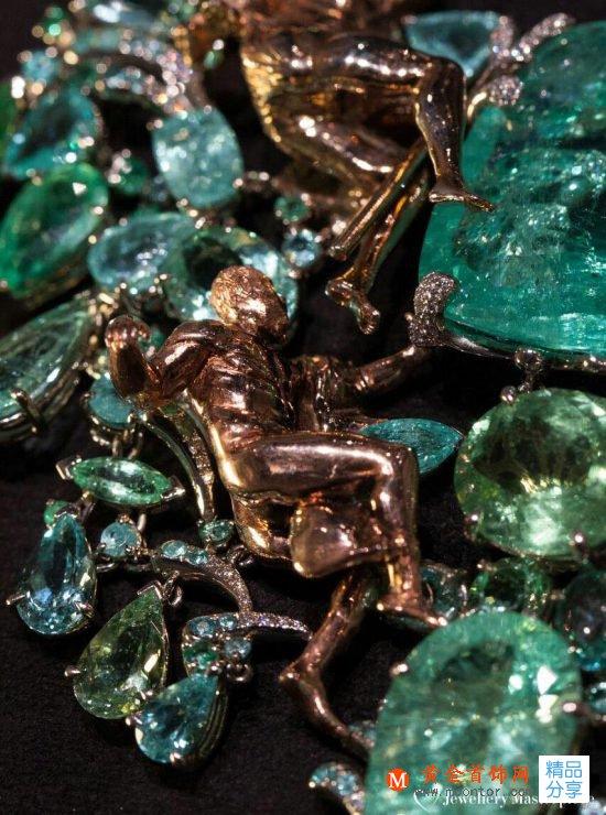Alessio Boschi罗马纳沃纳广场高级珠宝项链-创意珠宝
