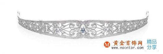 """圆你一个""""公主梦"""" 施华洛世奇(Swarovski)新娘皇冠"""