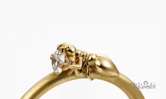 小心你的宝石会被它偷走!-创意珠宝