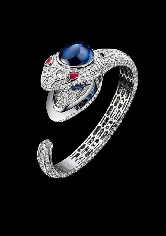 慑人心魄的灵蛇之魅 宝格丽SERPENTI SEDUTTORI高级珠宝腕表-珠宝首饰展示图【行业经典】