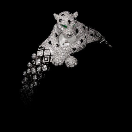 超越艺术美学!卡地亚(Cartier)高级珠宝腕表
