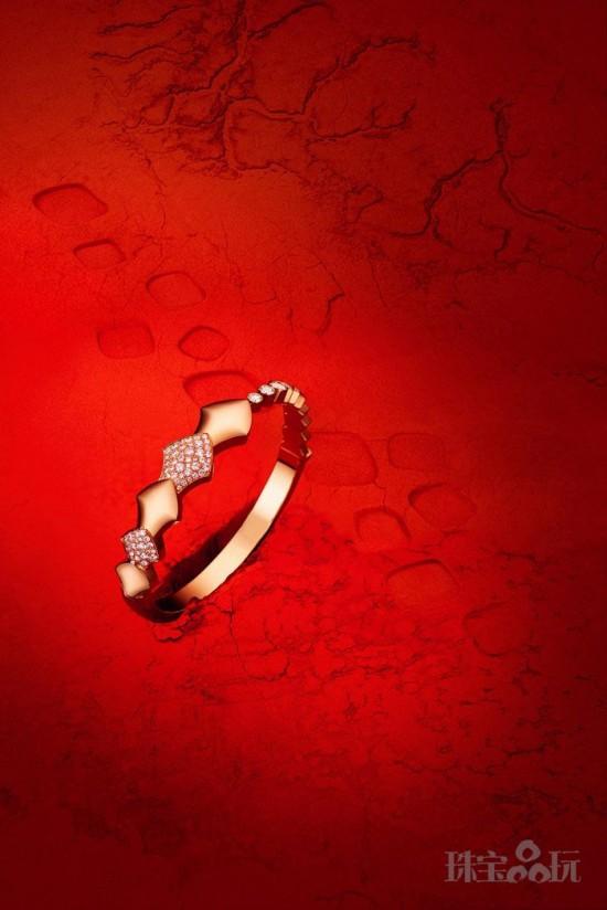 Akillis用珠宝诠释灵蛇魅力