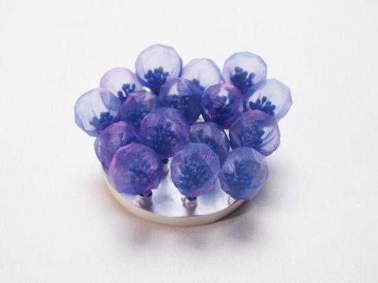 超梦幻!日本艺术家Mariko Kusumoto的布艺首饰-创意珠宝