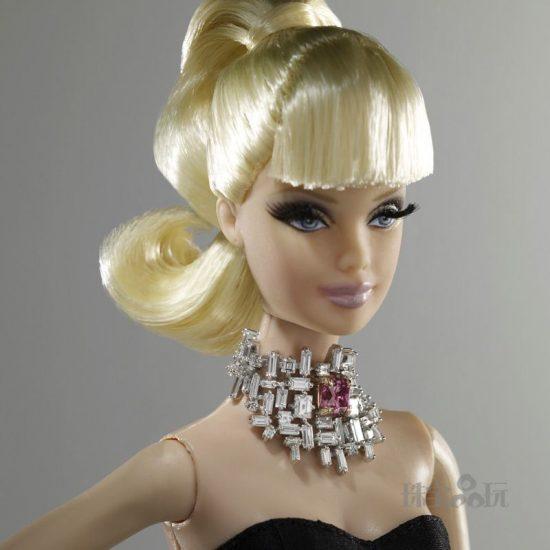 当奢华珠宝遇上芭比娃娃