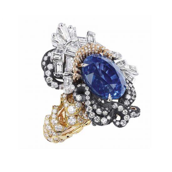 """2016年高级珠宝的色彩哲学""""奢华之蓝"""""""