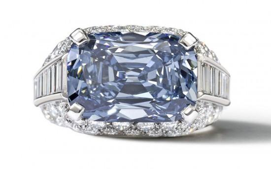 重达5.3克拉的璀璨深蓝色钻石