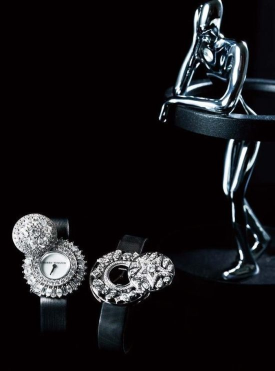 黑白分明的珠宝世界