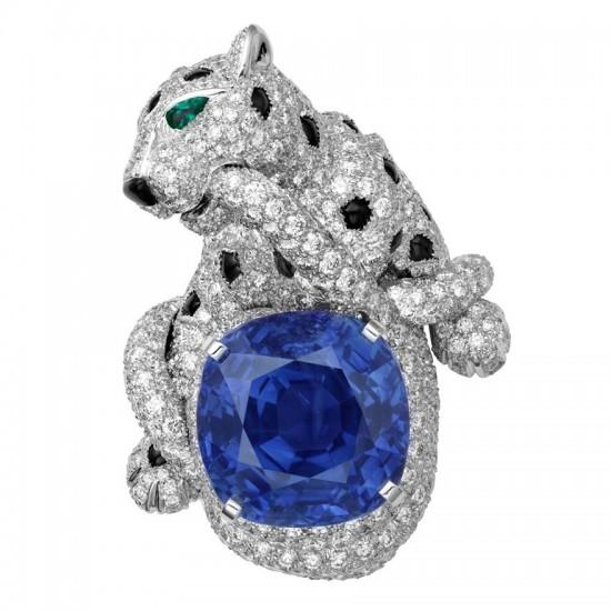 蓝宝石:低调中的奢华-珠宝首饰展示图【行业经典】