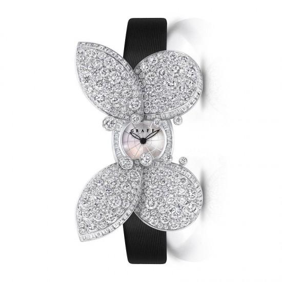 格拉夫(Graff)呈献Princess Butterfly神秘腕表-珠宝首饰展示图【行业经典】