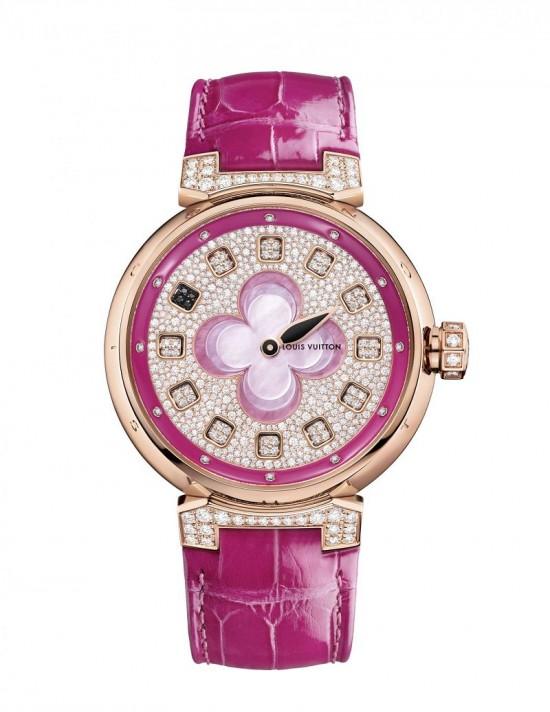 四瓣花开 路易威登Blossom珠宝腕表系列
