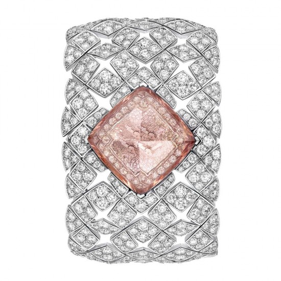 Chanel全新LES ÉTERNELLES DE CHANEL臻品珠宝腕表系列-珠宝首饰展示图【行业经典】