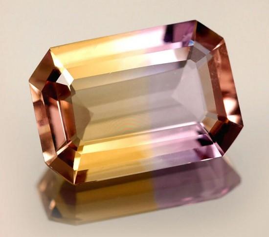 紫黄水晶(Ametrine)-珠宝首饰展示图【行业经典】