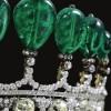 世界最昂贵头饰:重达500克拉的祖母绿皇冠-珠宝首饰展示图【行业经典】