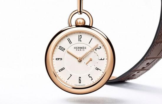 """爱马仕(Hermes)推出2015""""Only Watch""""二用怀表"""