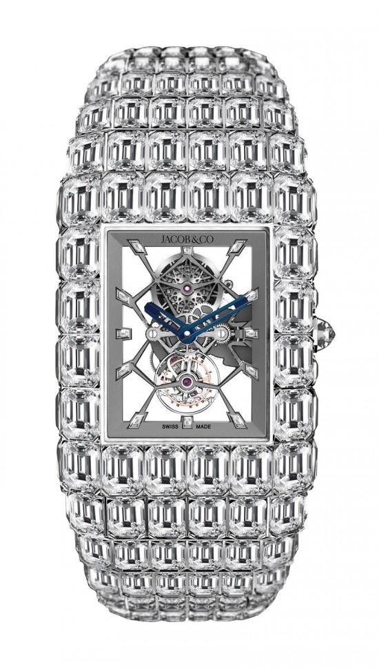 撼世力作 Jacob&Co The Billionaire钻石腕表
