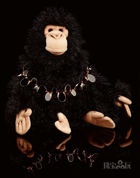 当你的毛绒玩具爱上珠宝后…