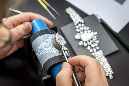 极致之作 格拉夫(Graff)The Fascination全钻手镯表-珠宝首饰展示图【行业经典】