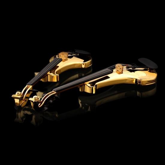 """Theo Fennell打造最""""奢华""""的珠宝小提琴"""