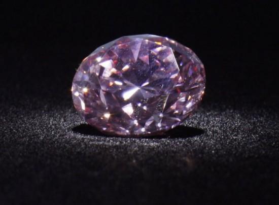 世界最著名的粉红圆钻:火星粉钻(The Martian Pink)-珠宝首饰展示图【行业经典】