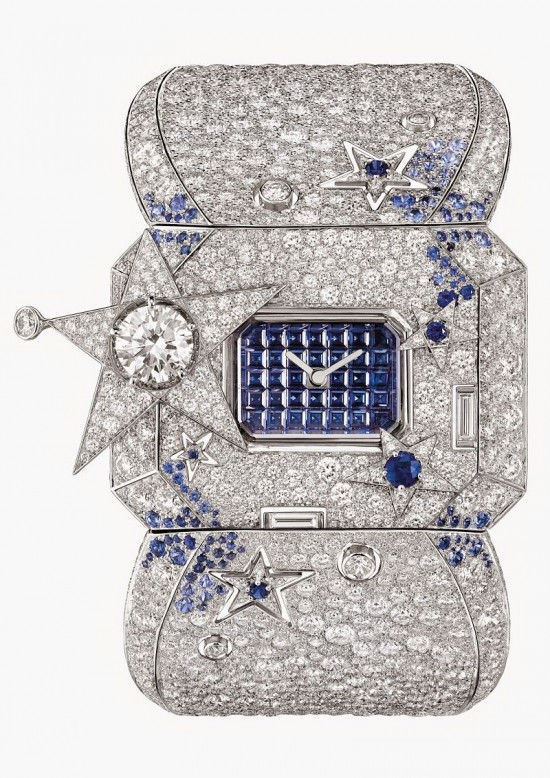 致敬永恒图腾 Les Eternelles de Chanel珠宝腕表