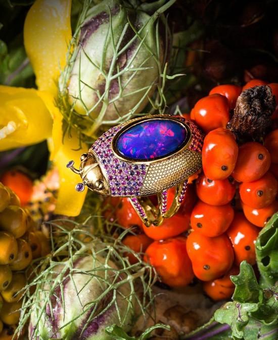 Daniela Villegas:昆虫珠宝派对-创意珠宝