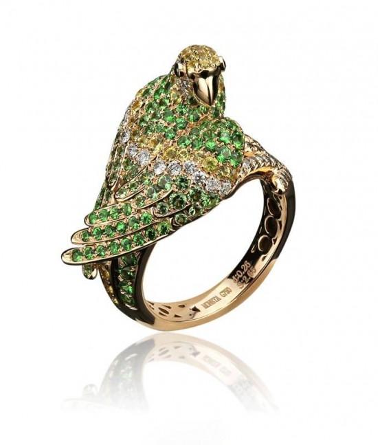MONETA:金刚鹦鹉-创意珠宝
