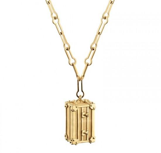 路易威登(Louis Vuitton)Petite Malle小箱子吊坠-创意珠宝