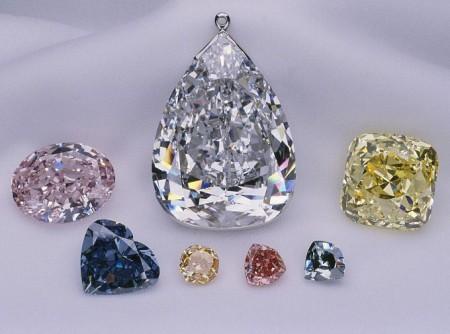 54个切面的千年星钻石(Millennium Star Diamond)-珠宝首饰展示图【行业经典】