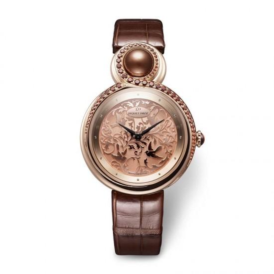 优雅之美 雅克德罗(Jaquet Droz)LADY 8珠宝腕表-珠宝首饰展示图【行业经典】