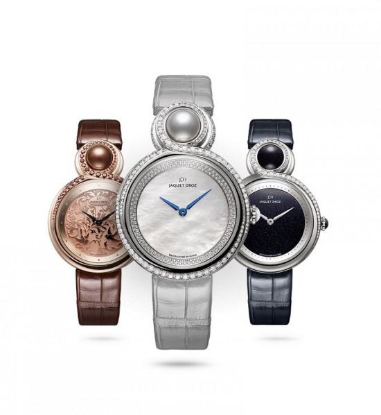 优雅之美 雅克德罗(Jaquet Droz)LADY 8珠宝腕表