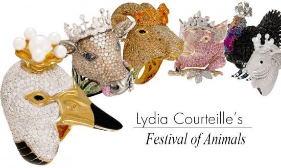 Lydia Courteille《动物庄园》-创意珠宝