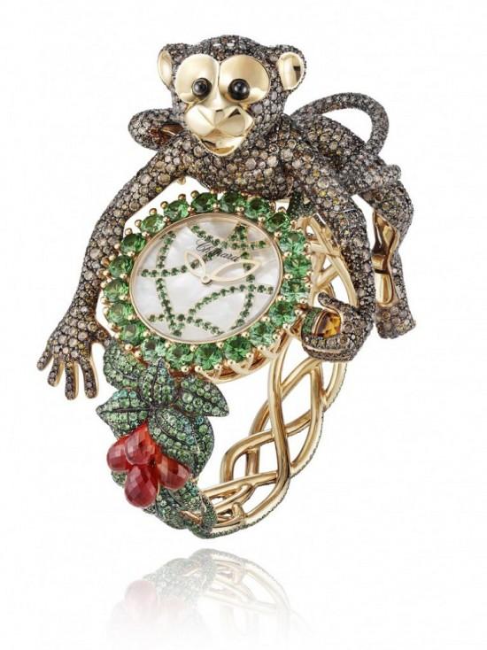 萧邦(Chopard)动物世界腕表系列再添新丁-珠宝首饰展示图【行业经典】