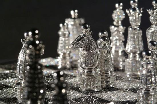 世界上最昂贵的钻石国际象棋
