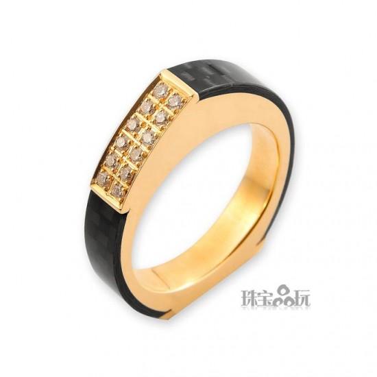 Ringl:碳纤维珠宝-创意珠宝